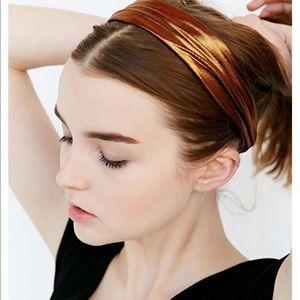NWT Free People Vintage Copper Headwrap